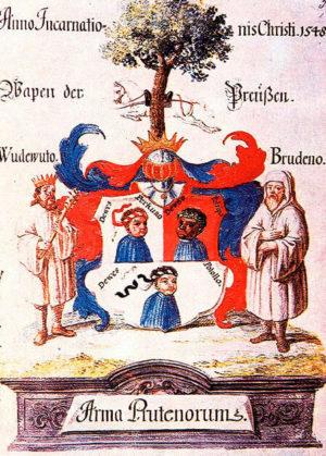 Легендарный герб пруссов.
