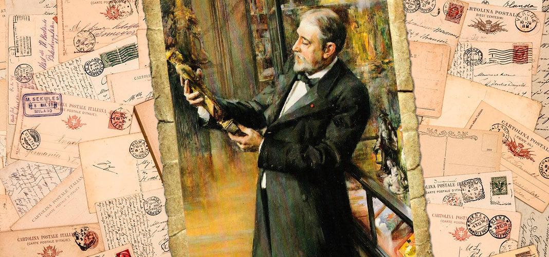 Эмиль Этьен Гиме, 1898 г. Коллаж © HistoryLost.Ru