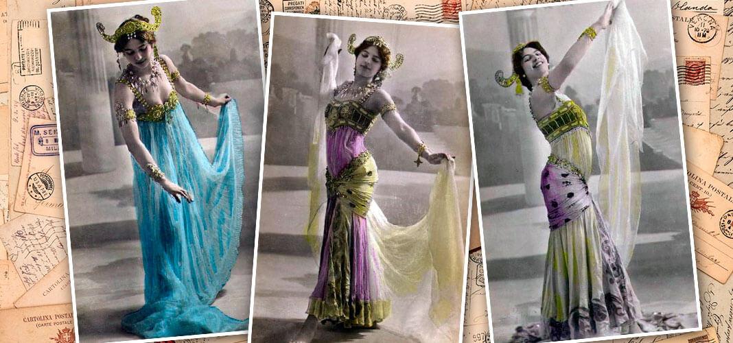 Мата Хари, 1910 год. Коллаж © HistoryLost.Ru