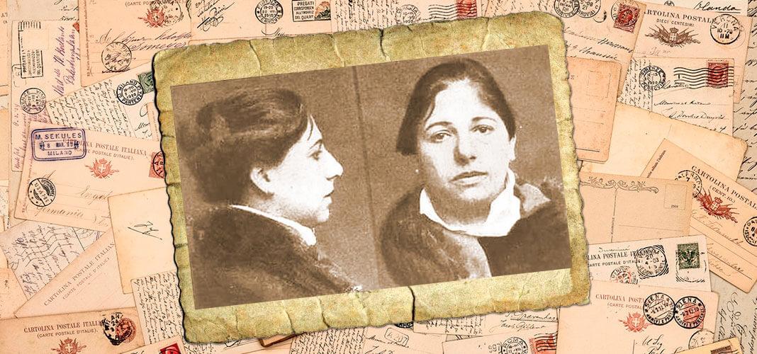 Мата Хари перед казнью, 1917 г. Коллаж © HistoryLost.Ru