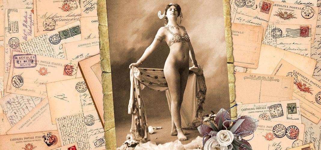 Мата Хари, 1906 г. Коллаж © HistoryLost.Ru
