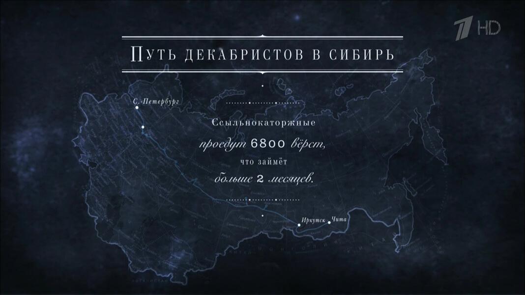 Путь декабристов в Сибирь