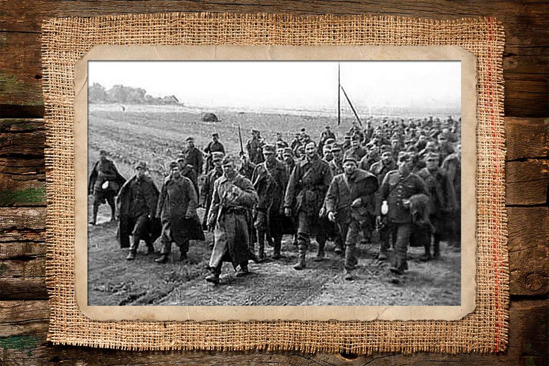 Польские пленные, взятые Красной Армией. Фото: © Wikipedia