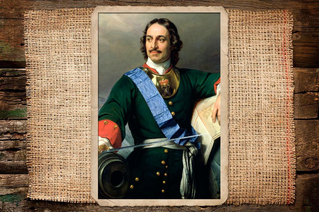 Романтизированный портрет Петра I. Поль Деларош, 1838. Фото: © Wikipedia