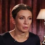 Мария Захарова. Директор Департамента информации и печати МИД РФ, кандидат исторических наук