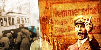 Жертвы Неммерсдорфа в Восточной Пруссии: пропаганда по Геббельсу живёт. Коллаж © HistoryLost.Ru