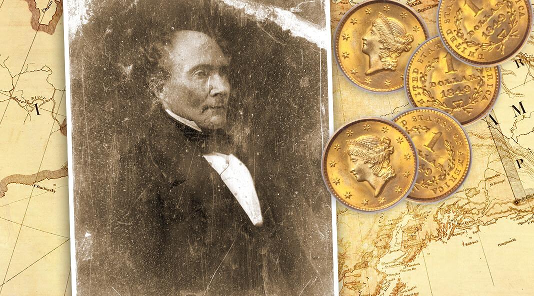 Роберт Джон Уокер (23 июля 1801 — 11 ноября 1869) — американский политик, сенатор, 18-й министр финансов США, 4-й губернатор территории Канзас. Коллаж © HistoryLost.Ru