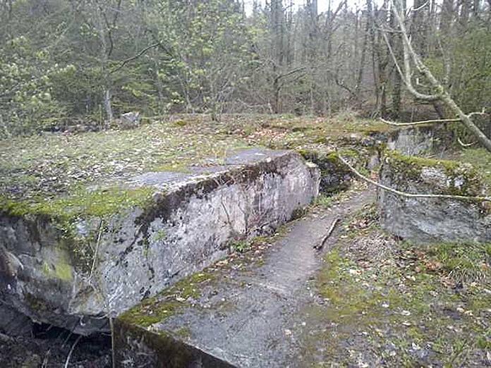 Бывший немецкий бункер в польских Мамерках, где предположительно может быть обнаружена Янтарная комната